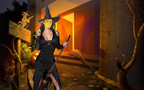 Скачать бесплатно шаблон - молодая ведьма